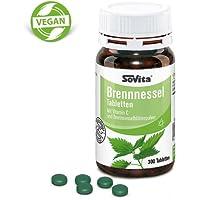 Preisvergleich für Brennnessel Tabletten | Kombiniert mit Vitamin C | Nieren, Harnwege & Blase | 300 Tabletten