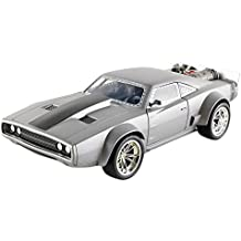 Jada Toys  - 98291S  -  Dodge Ice Charger - Dom - Fast And Furious 8 - Echelle 1/24 - Gris