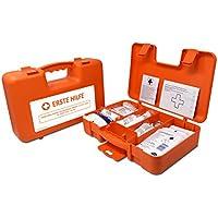 Erste-Hilfe-set mit Füllung DIN 13157 + DIN 13164 ( Verbandbuch, Notfall-Beatmungshilfe, Alkoholtupfern,...) preisvergleich bei billige-tabletten.eu