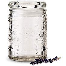 Mason Jar diseño floral - Preciosos tarros de estilo mason jar con estampado floral en relieve