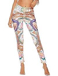 Pantaloni Stampati di Moda Yoga Leggings Palestra Leggings in Stile Nazionale Cinese,Pantaloni da Yoga Donna Alta Vita