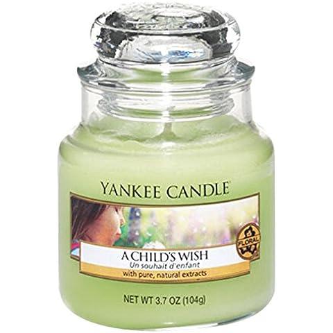 Yankee Candle vela en tarro, del niño A una bicicleta Wish, small