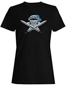 Establecer cuentos de hadas con castillo caballero camiseta de las mujeres g805f