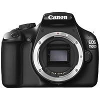 Canon EOS 1100D SLR-Digitalkamera (12 MP, 6,9cm (2,7 Zoll) Display, HD-Ready, Live-View, Gehäuse)