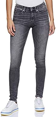 Calvin Klein Women's 8719113679-Blue Calvin Klein Jeans Skinny Jeans for Women - Lyon Blue With P