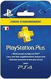 PlayStation Plus Card - Abonnement 3 Mois