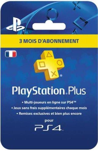 PlayStation Plus Card - Abonnement 3 Mois - [Edizione: Francia]