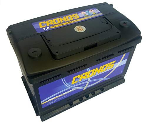 Batería de Coche 70 Ah 640 Amp 24 Meses de Garantía Tudor