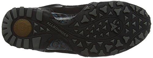 Allrounder by MephistoFINA-TEX RUBBER 1/G.NUBUK 84 BLACK/BLACK - Scarpe Sportive Outdoor Donna Nero (Schwarz (BLACK/BLACK))