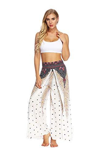 Sommer-Yoga-Hose Baggy Boho Aladdin Jumpsuit Harem Hose Sporthose Fitnesshose Yoga Leggings YEA-001 S/M ()