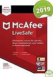 McAfee LiveSafe 2019 |Eine unbegrenzte Anzahl an Geräten | 1 Jahr | PC/Mac/Smartphone/Tablet | Download [Online Code]