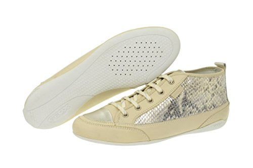 Geox Geox Moena - Damenschuhe - beige - D2261N, Scarpe stringate donna Beige (beige)