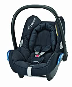 Maxi-Cosi CabrioFix Group 0+ Baby Car Seat (Total Black)