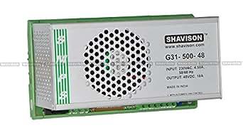 Shavison SMPS G31-500-48, I/P : 230VAC, O/P : 48V, 10A