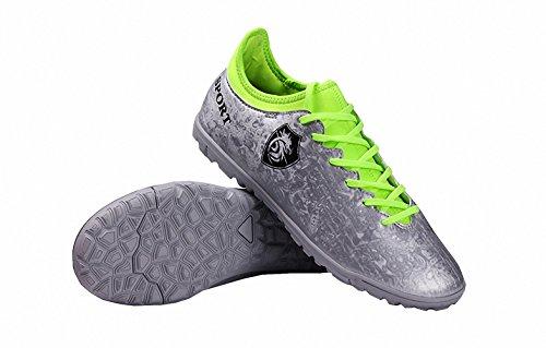 Ben Sports Tf Chaussures de Football Entrainement Homme Chaussures de football garçon Mixte Enfant,33-44 vert