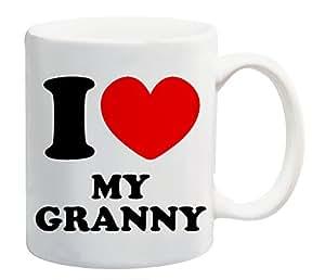 I Love My Granny Mug idée cadeau pour la famille