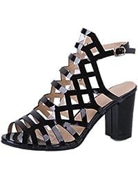 Sandalias Para Mujer, Xinantime Sandalias de Verano Sandalias de Gladiador Sexy Zapatillas Peep Toe Zapatos de...