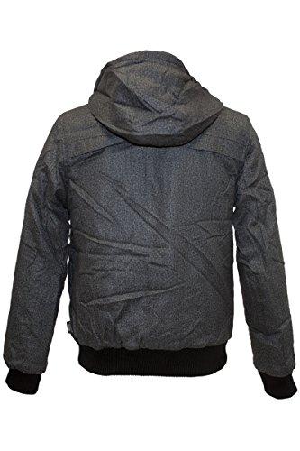 INDICODE Fashion Blouson Charcoal Mix Anthrazit