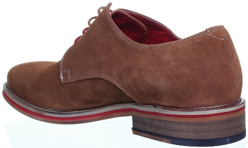 Justin Reece , Chaussures de ville à lacets pour homme Marron - Brun JL25