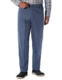 Chums Mens Fleece Lined Elasticated Thermal Draw Cord Trouser Pants