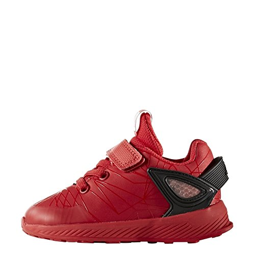 adidas Baby Jungen Spider-Man Rapidarun Sneaker Rot (Scarlet/scarlet/core Black)