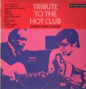 TRIBUTE TO THE HOT CLUB LP UK REDIFFUSION 1969