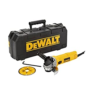 Dewalt DWE4156KD-QS Mini-amoladora 115 mm 900W 11.800 rpm maletín disco diamante