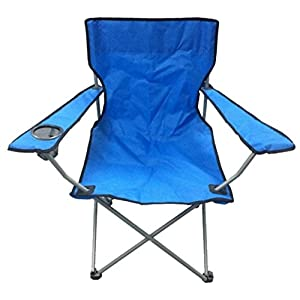 41Q 9kFcDEL. SS300  - Nalu Blue & Black Lightweight Folding Camping Beach Captains Chair