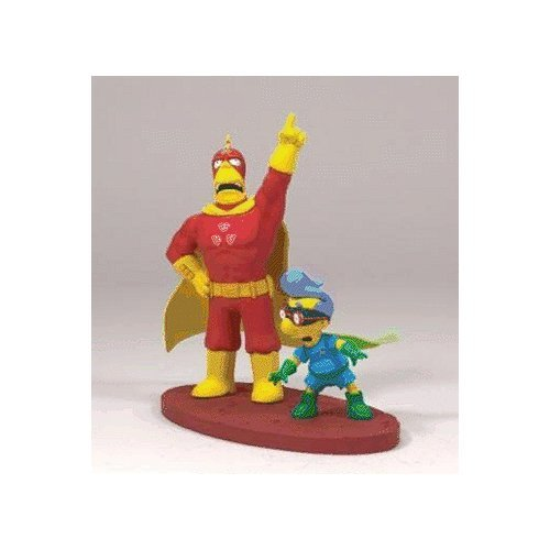 (The Simpsons Serie 2 Figur - Radioactive Man & Fallout Boy)