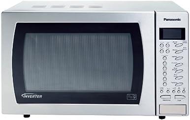 Panasonic NN-ST479SBPQ Family Solo Auto Sensor Microwave Oven - Stainless Steel
