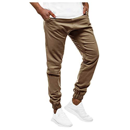 Refill➤Sportswear-Hosen für Herren,Jogginghose Herren Jogginganzug Jogger Männer Trainingsanzug Baumwolle Jungen Slim Fit