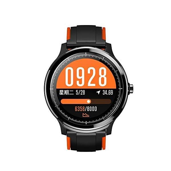 SmartWatchs,Reloj Inteligente Impermeable IP68,Bluetooth Relojes Deportivos Pantalla táctil completa para monitor deportivo para dormir,Pulsera Actividad Inteligente Smartwatch Hombre Mujer para iOS y Android,15 días de duración de la batería (dos correas) 1