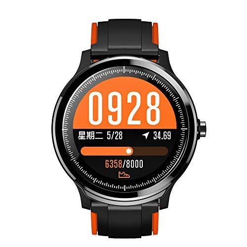 SmartWatchs,Reloj Inteligente Impermeable IP68,Bluetooth Relojes Deportivos Pantalla táctil completa...
