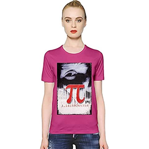 Pi Poster T-shirt donna Women T-Shirt Girl Ladies Stylish Fashion Fit Custom Apparel By Slick Stuff