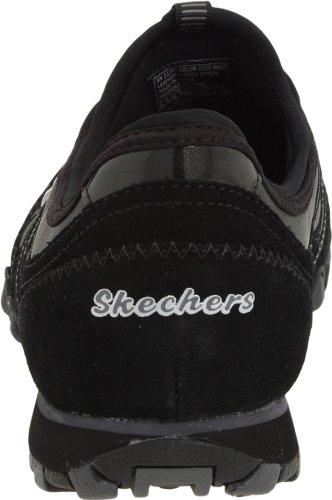 Skechers BikersDream-Come-True Damen Sneakers Schwarz (Bkcc)