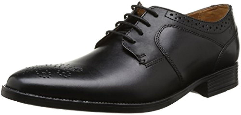 Clarks Kalden Edge - zapatos con cordones de cuero hombre -