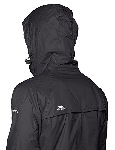 Trespass Qikpac Jacket, Kompakt Zusammenrollbare Wasserdichte Regenjacke / Funktionsjacke / Wetterjacke für Damen und Herren / Unisex Flint