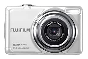 Fujifilm FinePix JV500 Digital Camera - White (14 MP, 3x Optical Zoom) 2.7 inch LCD