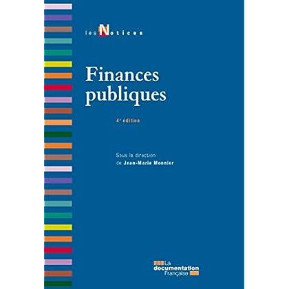Finances publiques (Les Notices)