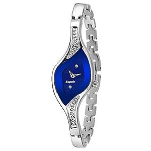Espoir Analog Blue Dial Women's Watch -9710SM01