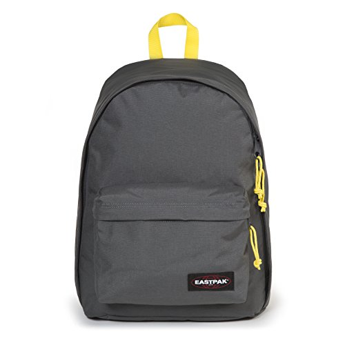 Eastpak Out Of Office Sac à  dos, 44 cm, 27 L, Gris (Grey-Yellow)