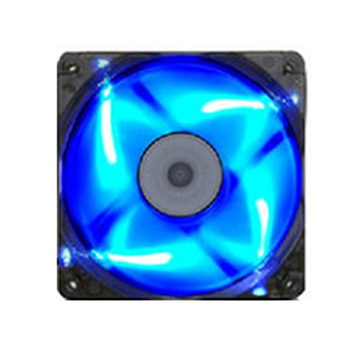 LaDicha 120X120X25Mm Mining Miner Led Lüfter 40Cm Kabel 4 Farbe Für Eth Btc Ethereum -Blau