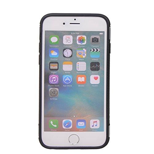 """Coque iPhone 6/6s ( 4.7""""),COOLKE Haute qualité Etui Housse Robuste Protection de Double Couche d'Armure 360 Degrés Rotation Ring Holder Stand Protection case cover pour Apple iPhone 6/6s ( 4.7"""") - Arg Gris"""