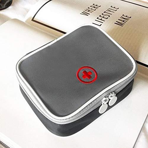41Q MlLUtCL - LeobooseMini Bolsa de botiquín de primeros auxilios para viaje al aire libre Paquete de medicina portátil Bolsas de equipo de emergencia Bolsa de almacenamiento de pastillas Pequeño organizador