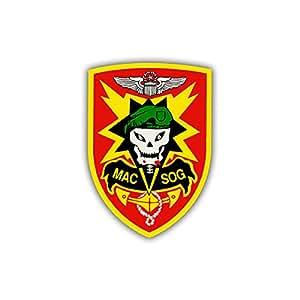 Sticker Autocollant–Mac SOG autocollants Assistance Command Vietnam armoiries insigne emblème 7x 5cm # A794Modèle anatomique d'épine