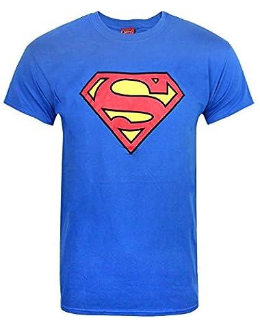 Official Superman Shield Logo Men's T-Shirt (S)