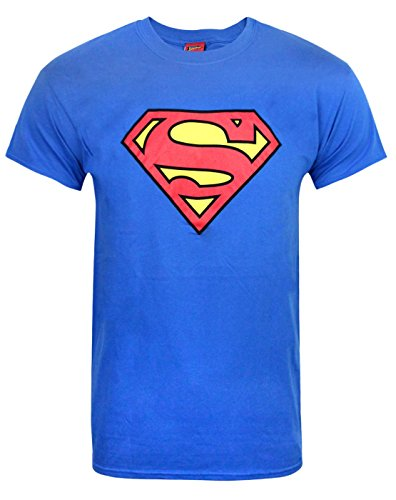 Official DC Comics Superman Shield Logo Men's T-Shirt