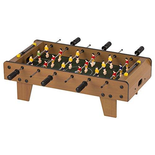ColorBaby - Futbolín madera 18 jugadores - 60x30x20 cm (43310)