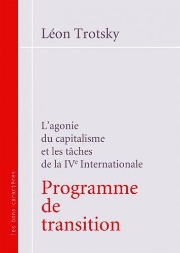 Programme de transition par Léon Trotsky