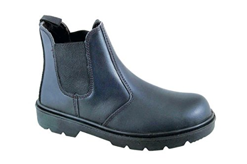 Black Rock SF12B Damen Sicherheitsschuhe, Schwarz (Black),EU Regular 42 (UK 8) Black Steel Toe Work Boot